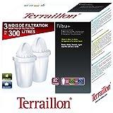TERRAILLON 10386 Pack Cartouches Filtra + 3 Mois