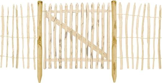recinzione in castagno Pali di recinzione Boogardi nocciola varie misure Beige pali di recinzione per lo steccato recinzione fattoria