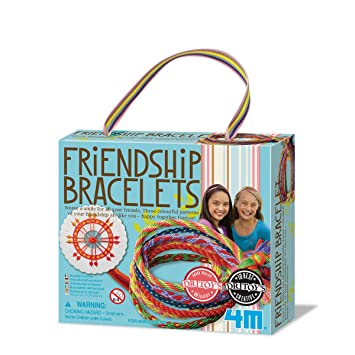 4m Friendship Bracelets Making Kit Amazon Toys Games