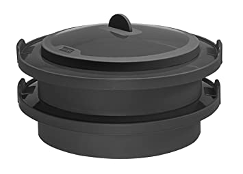 lurch 70080 dünsteinsatz aus silikon (3-teilig): amazon.de: küche ... - Silikon Küche