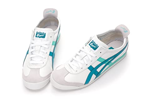 860b87368292c Asics Onitsuka Tiger Mexico 66 Casual Shoes THL7C2-0156 WHITE-OCEAN BLUE (25