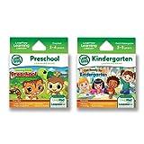 LeapFrog LeapPad Game Cartridges 2-pack - Get Ready for Kindergarten, Preschool Adventures (works with LeapPad Platinum, LeapPad Ultra, LeapPad3, LeapPad2, LeapPad1)