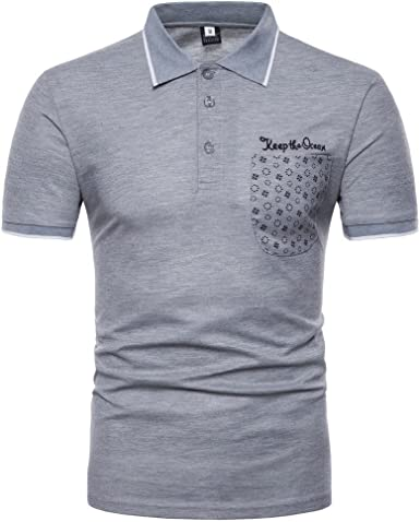 Camiseta para Hombre, Verano Polo Originales Camiseta Deporte ...