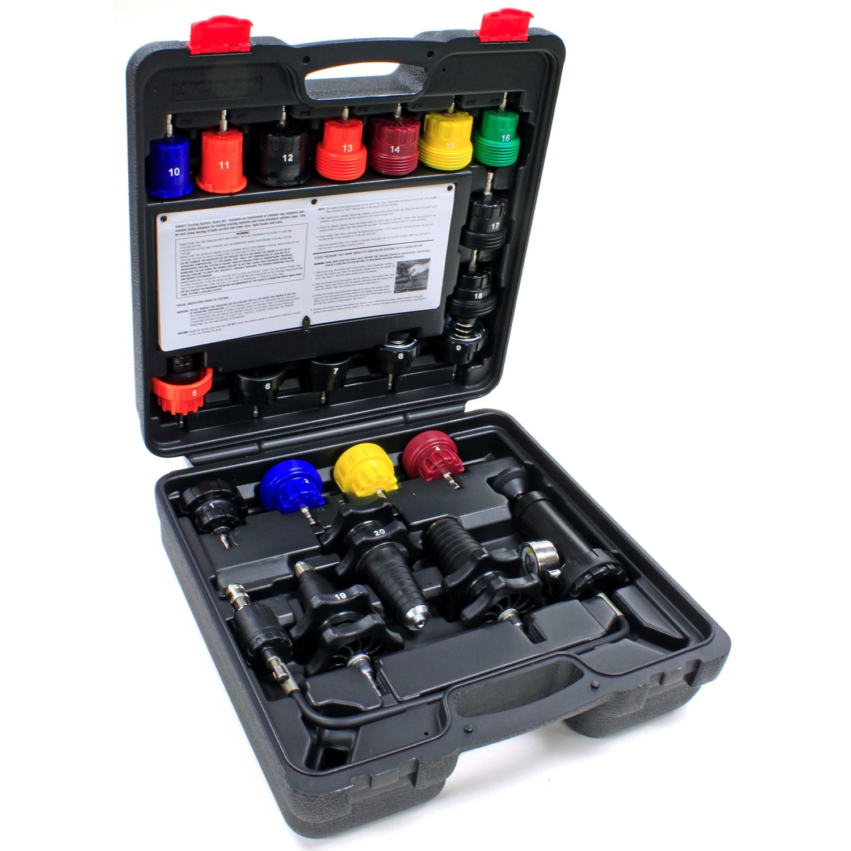 Alltrade 940427 Kit 70 Cooling System Pressure Tool Set