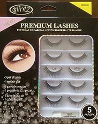 7229731b6c7 Glintz Premium Lashes 5 Pair with Eyelash Glue (331)