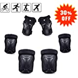 67i Kids Protective Gear Knee Pads for Kids Knee Pads Elbow Pads Wrist Guards 3 in