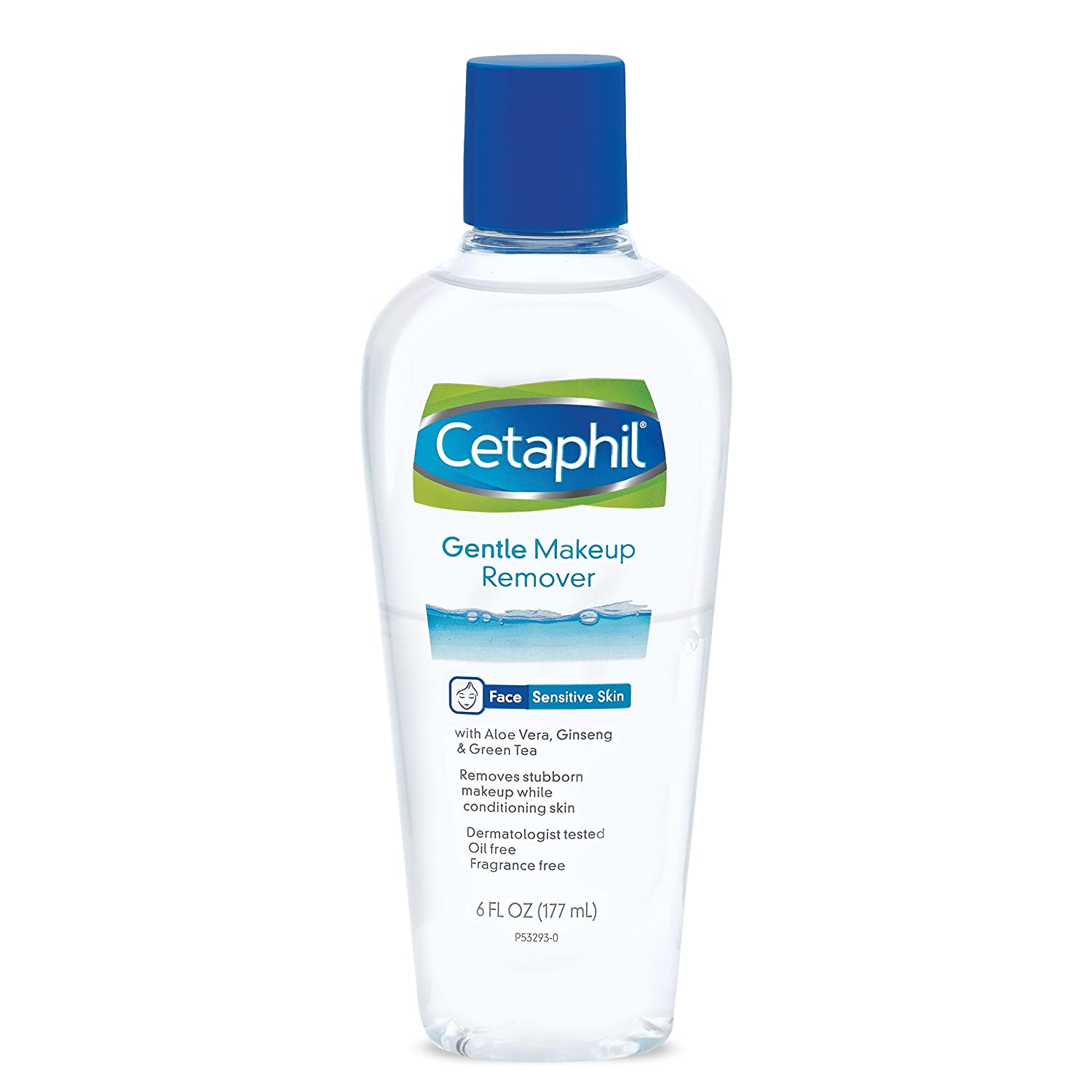 Cetaphil Gentle Waterproof Makeup Remover, 6.0 Fluid Ounce Galderma Laboratories Inc
