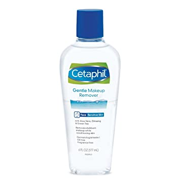 Amazon.com : Cetaphil Gentle Waterproof Makeup Remover, 6.0 Fluid Ounce : Beauty