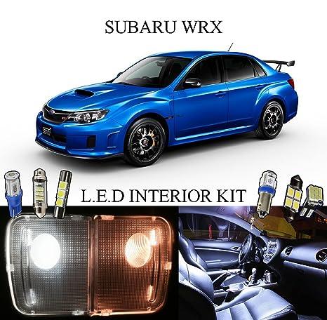 Amazon.com: 2010 Subaru Impreza WRX/STI Xenon LED blanco ...
