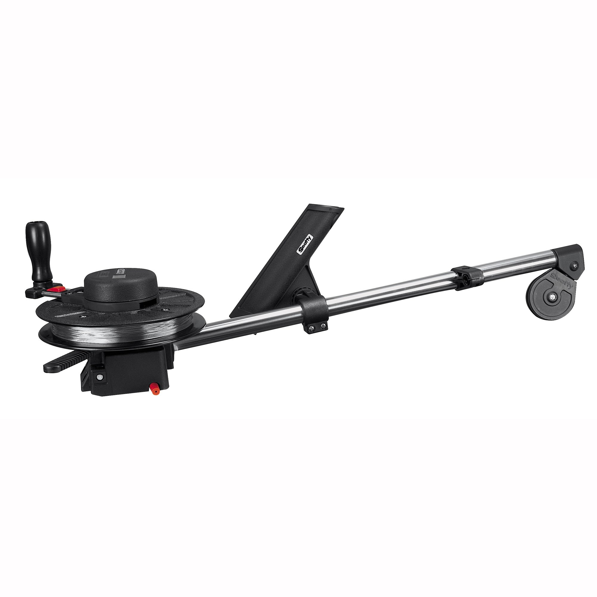 Scotty #1085 Strongarm Manual Downrigger w/ 30-Inch Boom w/ Rod Holder by Scotty