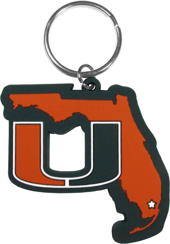 Siskiyou NCAA Unisex Home State Flexi Key Chain