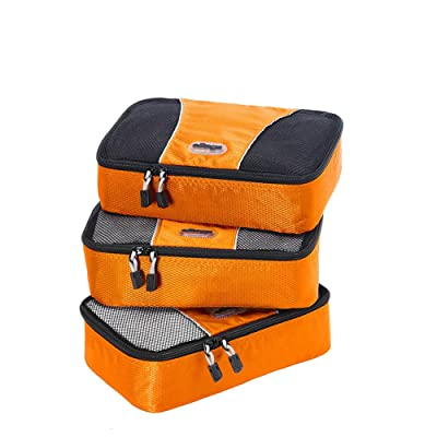 eBags Packing Cubes - 3pc Set (Tangerine)
