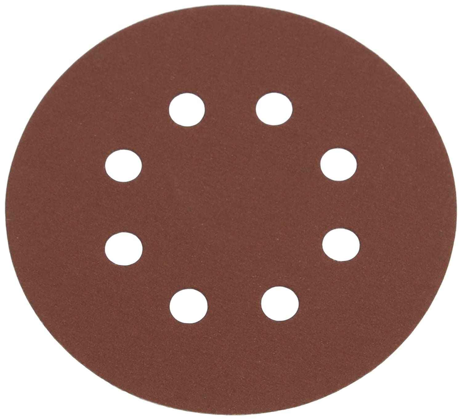 Silverline 822649 125 mm 40 Grit Hook and Loop Discs Punched