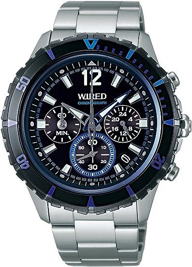 [セイコーウォッチ] 腕時計 ワイアード THE BLUE ザ ブルー マスコミモデル クオーツ ハードレックス AGAW429 シルバー