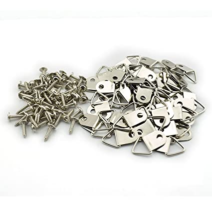 RuiLing - Anillo de plata para colgar cuadros con anilla en D, marco ...