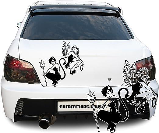 Con diseño de coche de diseño de tatuaje de pegatina para una ...