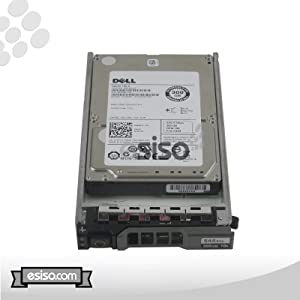 Dell 300GB SAS 10K RPM 6Gbps 2.5in Hard Drive For Dell PowerEdge R410 T410 R610 T610 R710 T710 M600 M605 M610 M710 M805 M905 Servers M1000e MD1120 Storage Arrays (Renewed)