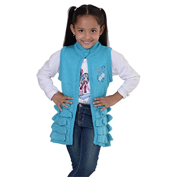 105df609eab8 Sportking Casual Firozi Round Neck Jacket For Girls ( Size-30 ...