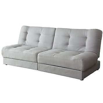 Amazondoris ソファーベッド 収納 ソファ 引き出し付き リクライニング