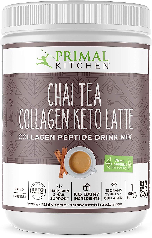 Primal Kitchen Collagen Keto Latte - Chai Tea