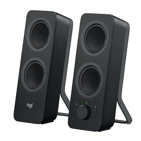 Review Logitech Z207 2.0 Multi Device Stereo Speaker (Black)