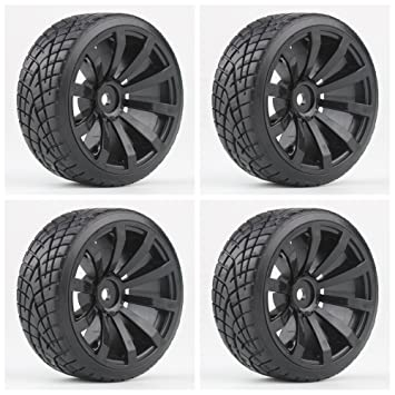 Shaluoman Rc Car Drift Tires Tyre And Wheels 10 Spoke