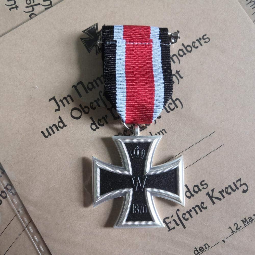 Alemania 1870 Cruz de Hierro de 2a Clase La Guerra Franco-Prusiana 1870 Cruz de Hierro EK2 Prusia Medalla Militar