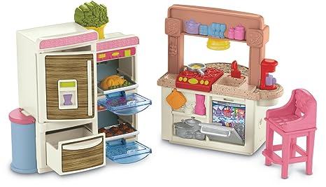 Amazon Com Fisher Price Loving Family Kitchen Toys Games