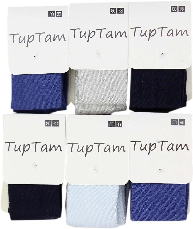TupTam Baby Jungen Strickstrumpfhose 6er Pack