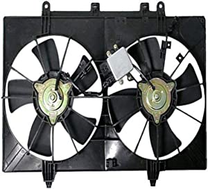 DEPO 325-55004-000 Replacement Engine Cooling Fan Assembly (This product is an aftermarket product. It is not created or sold by the OE car company)