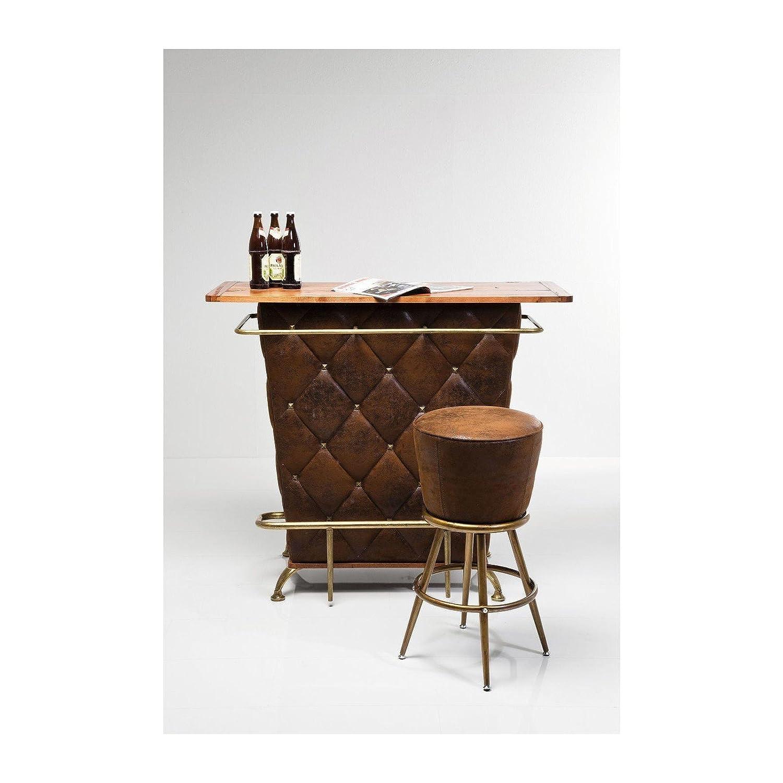 KARE Design Lady Rock Vintage Bar Stool, Metal, Brown: Amazon.co.uk ...