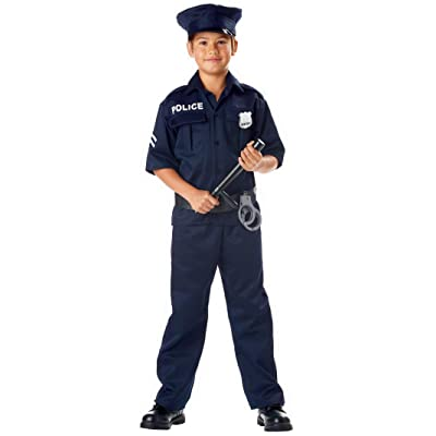 California Costumes Police Costume: Toys & Games