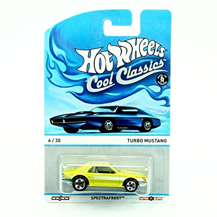 TURBO MUSTANG 6 of 30 Hot Wheels 2013 SPECTRAFROST COOL CLASSICS Die-Cast Vehicle