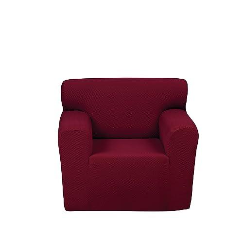 Chiara Rose Anti Slip Jacquard 1 Piece Spandex Stretch Elastic Pet Dog Sofa  Couch