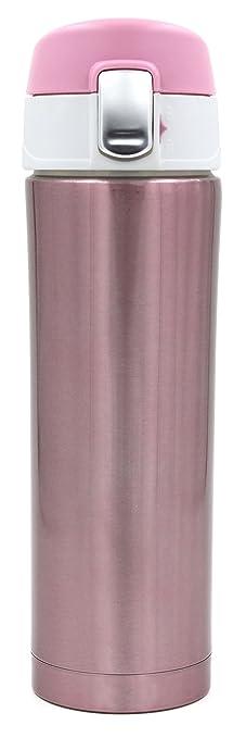 8 opinioni per Kooyi 450 ML Tazza termica da viaggio Thermos caffè in Acciaio Inossidabile,