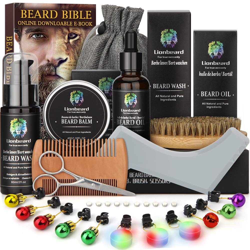 Isner Mile Beard Grooming Kit
