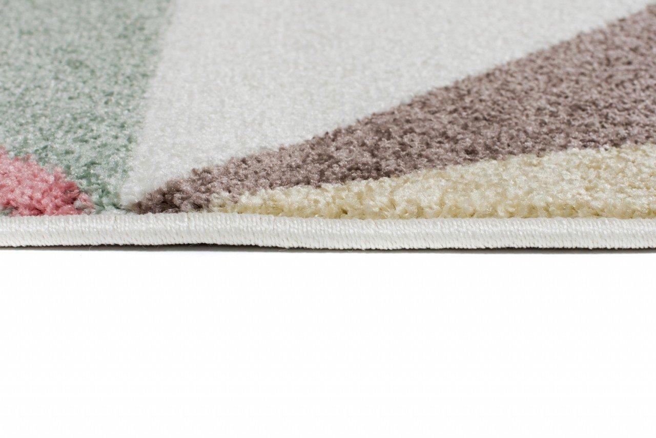 Tapiso Happy Teppich Teppich Teppich Kurzflor Kinderteppich Creme Mehrfarbig mit Modern Streifen Zick Zack Muster für Jugendzimmer Kinderzimmer ÖKOTEX 120 x 170 cm B079ZWJX8Q Teppiche 02e983