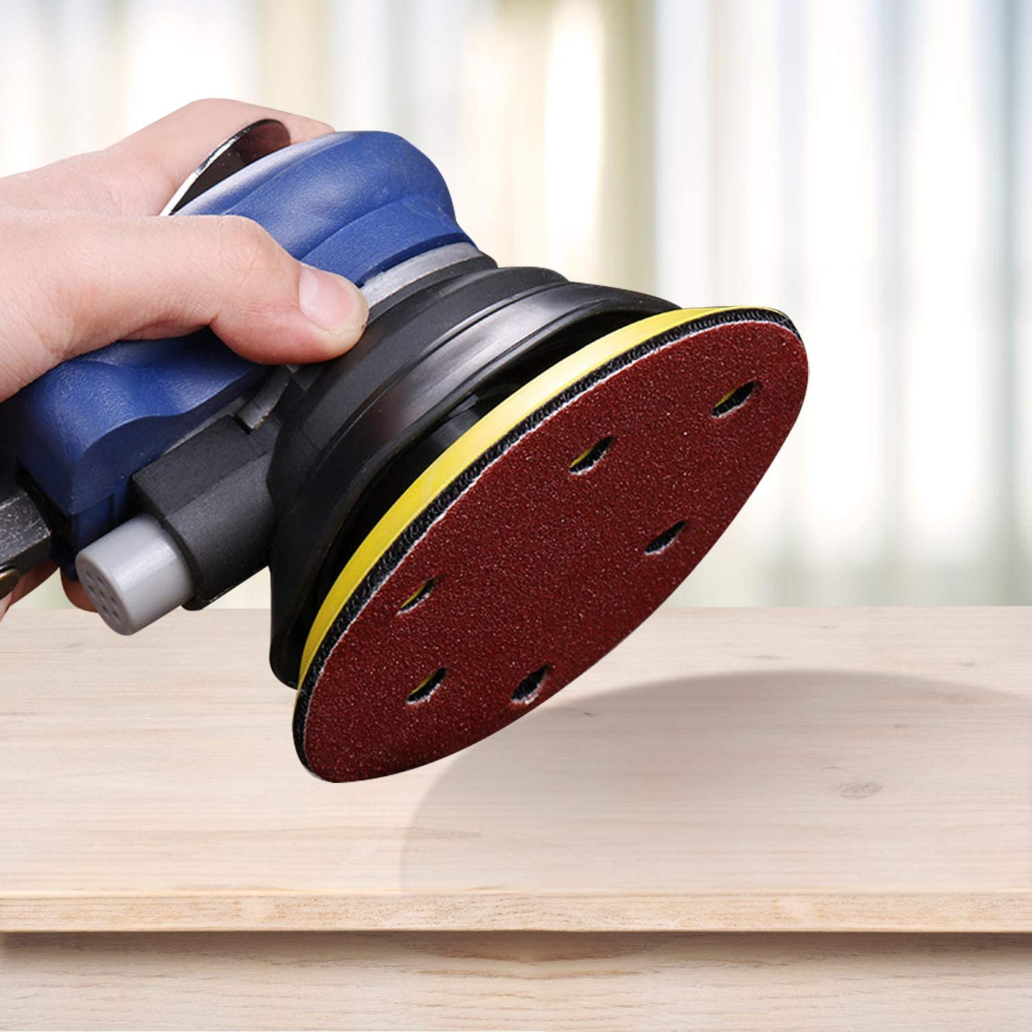 Style A URATOT 60 Pieces Mouse Detail Sanding Sheets Hook and Loop Sandpaper with Extra 2 Tips for Replacement Mixed 40//60//80//100//120//150//180//240//320//400 Grits Sanding Pads for Polishing and Sanding