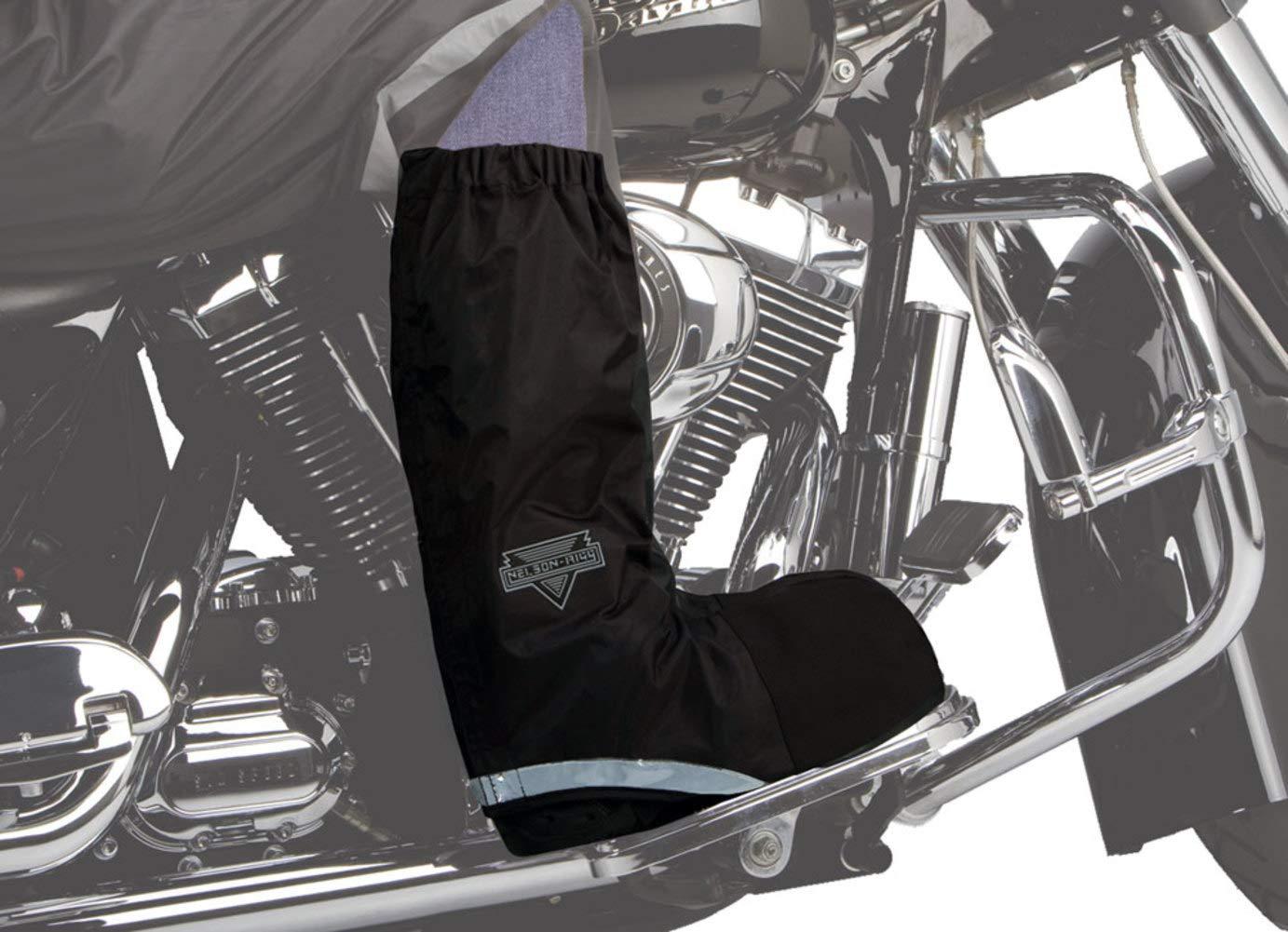 Nelson-Rigg WPRB-100 Waterproof Rain Men's Street Motorcycle Boots - Black/Small 21-1283