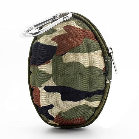 Outstanding Camuflaje de la granada en forma de caja dominante del monedero de la moneda