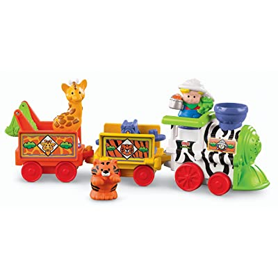 Fisher-Price Little People Musical Zoo Train: Toys & Games