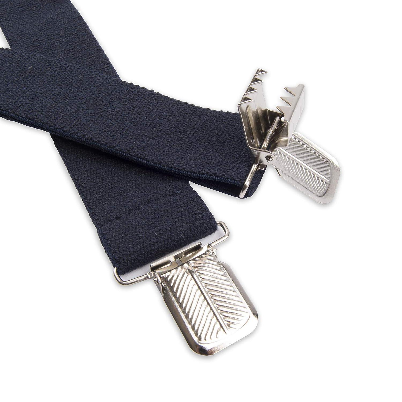 Dickies Mens 1-1//2 Solid Straight Clip Suspender