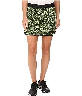 Nike Golf Womens Fringe Flip Skort Black/Metallic Silver Skirt XS