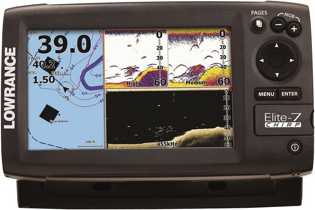 Lowrance Elite-7 chirrido 83 KHZ atuneros Find.: Amazon.es ...