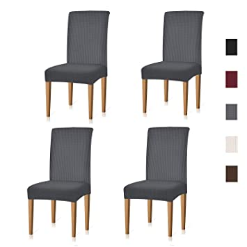 Amazon Com Xflyee Stretch Dining Room Chair Covers Jacquard