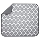 Amazon Price History for:S&T 497400 Microfiber Dish Drying Mat, 16 by 18-Inch, White Trellis