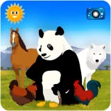 Find Them All: looking for animals - Educational game for kids - Discovery of farm and world wildlife safari (Africa, America, Asia, Oceania) with pictures, photos, jigsaws and videos!