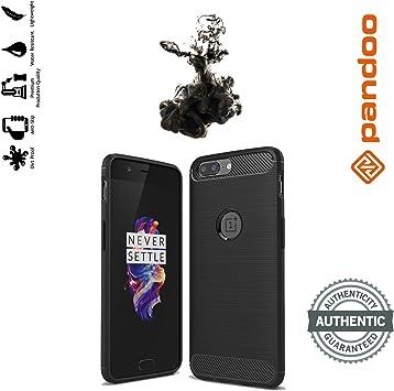 Funda OnePlus 5 Pandoo, Cubierta De Fibra De Carbono Para OnePlus ...