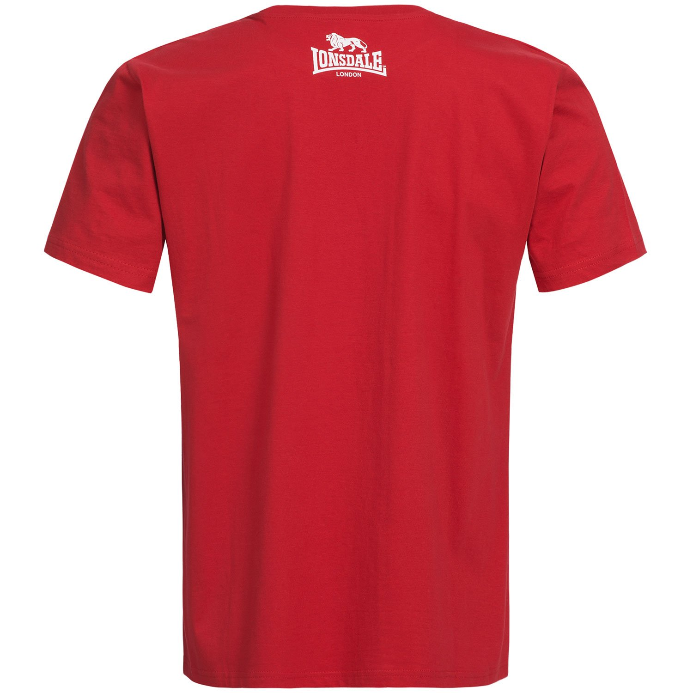 Lonsdale London Hombres Ropa Superior/Camiseta East Haddon: Amazon ...