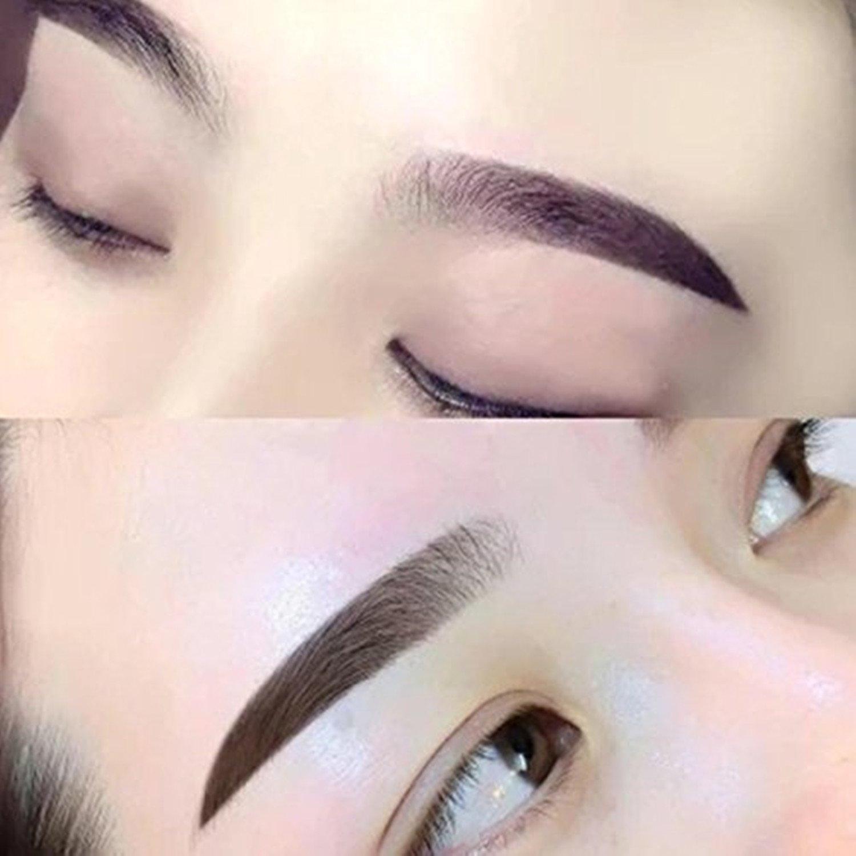 Namee Permanent Makeup Tattoo Eyebrows Ruler Metal Eyebrow Makeup